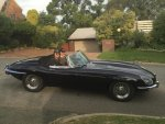1june 2017_ernies visit_john and ernie in johns etype jaguar driving off_page 22.jpg